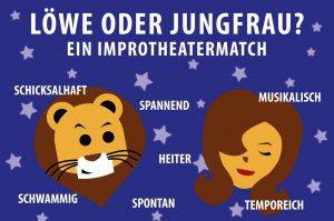 Löwe oder Jungfrau? - Ein Improtheatermatch @ Festung Mark | Magdeburg | Sachsen-Anhalt | Deutschland